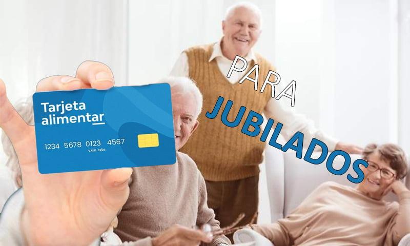 Tarjeta Alimentar para Jubilados