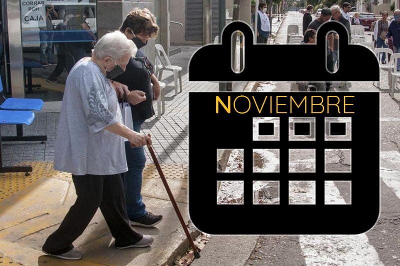 Pensiones no contributivas noviembre 2020